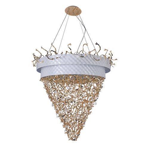 Hanging lamp Carmen Megapolis 32 White - 394011432