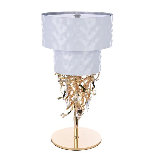 Carmen Megapolis 6 White Table Lamp - 394031506