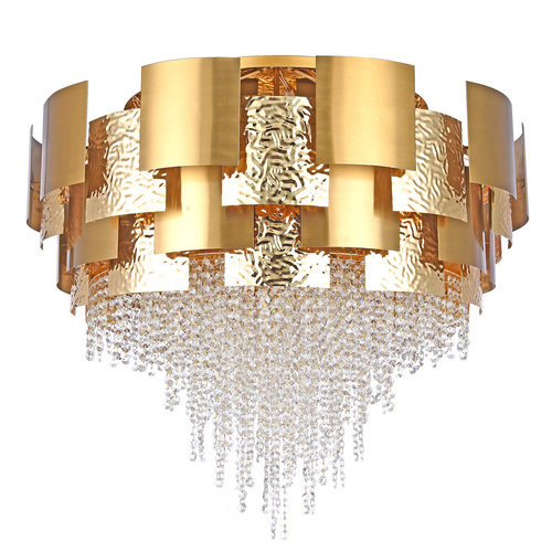 Hanging lamp Carmen Crystal 24 Gold - 394011924