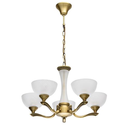Hanging lamp Classic 5 Brass - 317014705