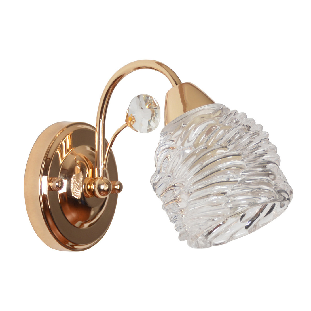 Wall lamp Flora 1 Gold - 294026901