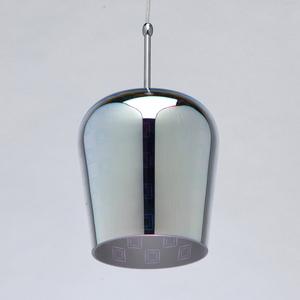 Hanging lamp Megapolis 1 Chrome - 392018601 small 2