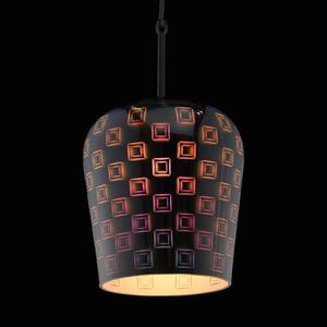 Hanging lamp Megapolis 1 Chrome - 392018601 small 3