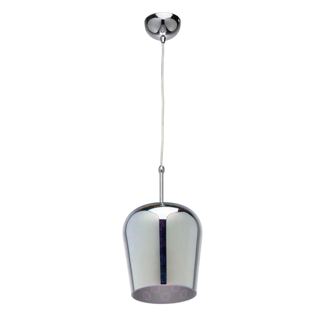 Hanging lamp Megapolis 1 Chrome - 392018601