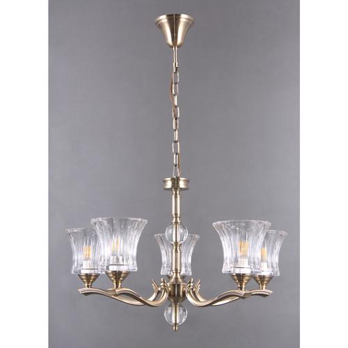 Hanging lamp Amanda Classic 5 Brass - 481013805