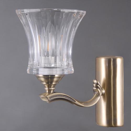 Wall lamp Amanda Classic 1 Brass - 481024001