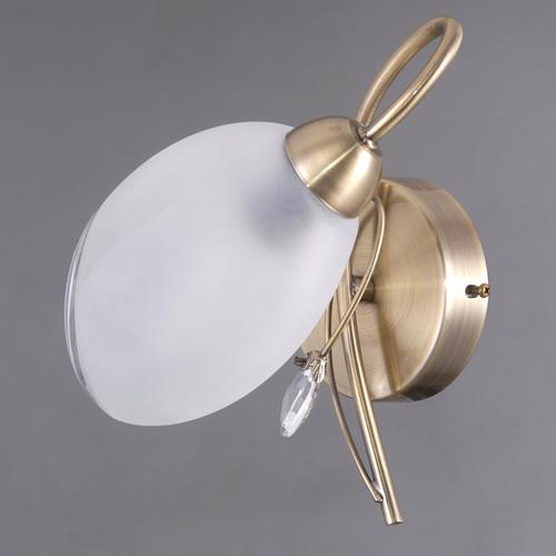 Wall lamp Monica Classic 1 Brass - 372023901