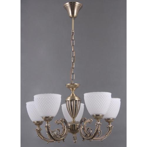 Hanging lamp Felice Classic 5 Brass - 114010205