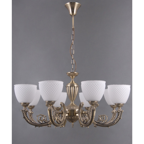 Hanging lamp Felice Classic 8 Brass - 114010308