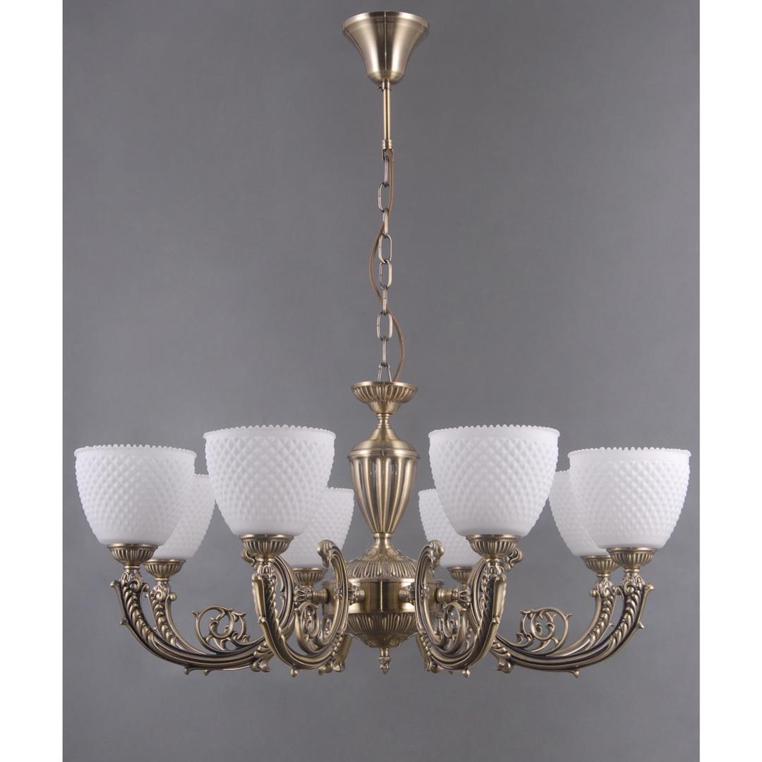 Hanging lamp Felice Classic 8 Brass - 114010308
