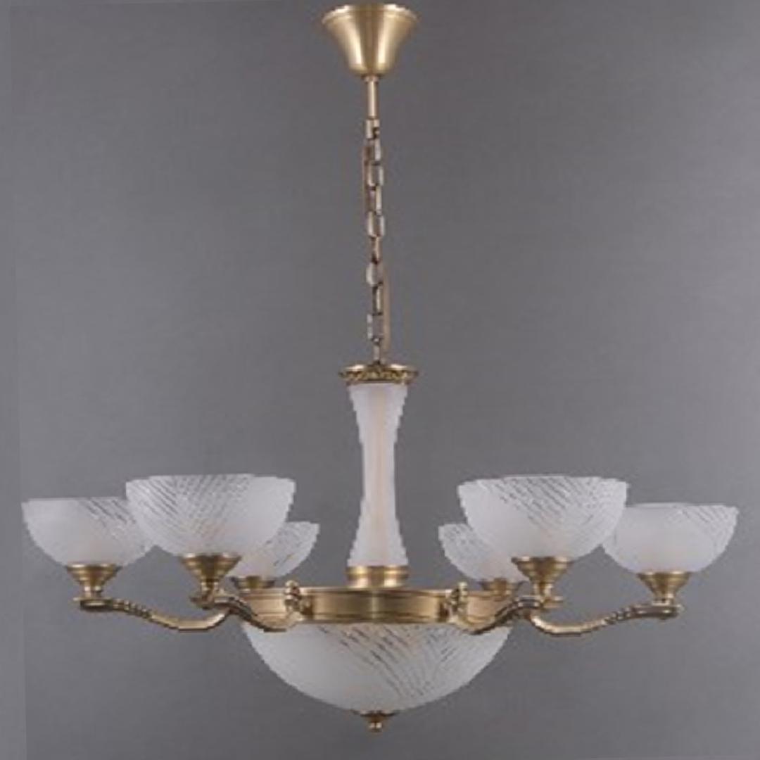 Hanging lamp Aphrodite Classic 9 Brass - 317014909