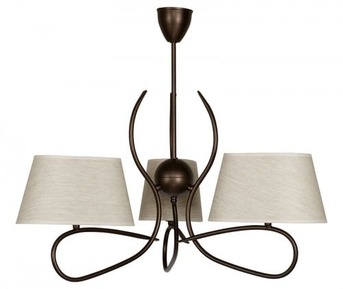 Senso 3 Bright E27 3 x 60W chandelier