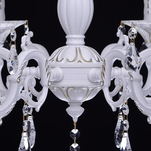 Chandelier Candle Classic 6 White - 301014706 small 14