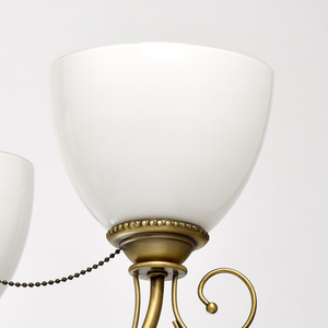 Hanging lamp Felice Classic 5 Brass - 347016405 small 8