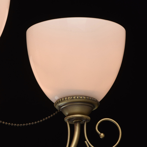 Hanging lamp Felice Classic 5 Brass - 347016405 small 9