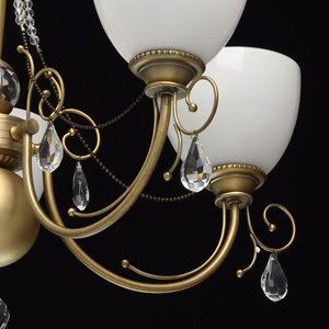 Hanging lamp Felice Classic 5 Brass - 347016405 small 12