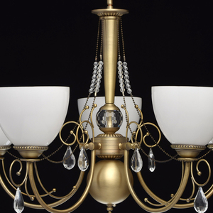 Hanging lamp Felice Classic 5 Brass - 347016405 small 13