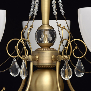 Hanging lamp Felice Classic 5 Brass - 347016405 small 14