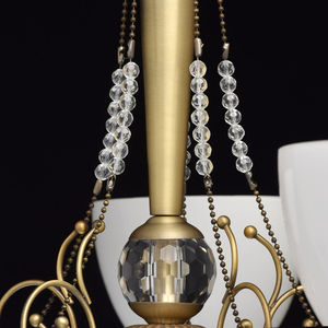 Hanging lamp Felice Classic 5 Brass - 347016405 small 4