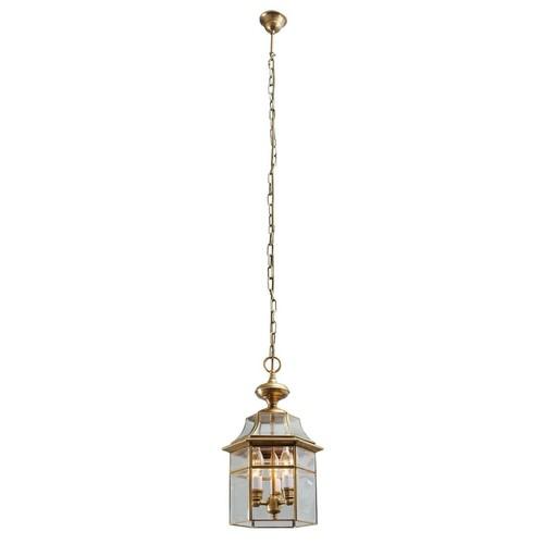 Outdoor pendant lamp Corso Street 3 Brass - 802010303