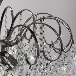 Pearl Crystal 8 hanging lamp Gray - 232016608 small 8