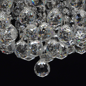 Pearl Crystal 8 hanging lamp Gray - 232016608 small 10