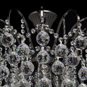 Pearl Crystal 8 hanging lamp Gray - 232016608 small 12