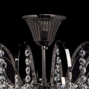 Pearl Crystal 8 hanging lamp Gray - 232016608 small 3