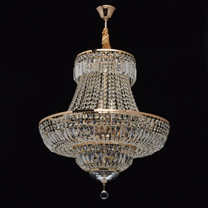 Chandelier Diana Crystal 9 Gold - 340011409 small 1