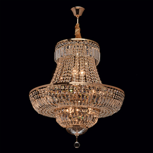 Chandelier Diana Crystal 9 Gold - 340011409 small 7