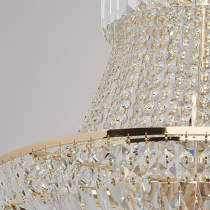 Chandelier Diana Crystal 9 Gold - 340011409 small 8