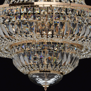 Chandelier Diana Crystal 9 Gold - 340011409 small 10