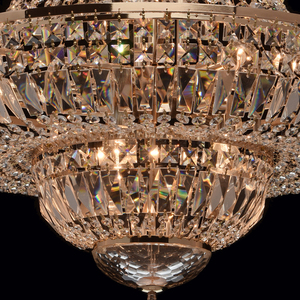 Chandelier Diana Crystal 9 Gold - 340011409 small 11