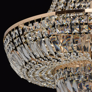 Chandelier Diana Crystal 9 Gold - 340011409 small 12