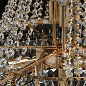 Chandelier Diana Crystal 9 Gold - 340011409 small 2
