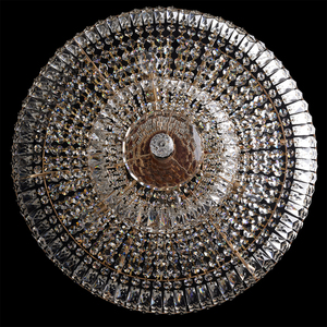 Chandelier Diana Crystal 9 Gold - 340011409 small 3