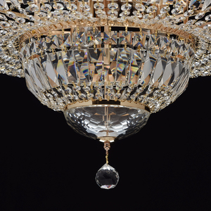 Chandelier Diana Crystal 9 Gold - 340011409 small 4