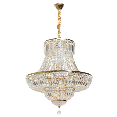 Chandelier Diana Crystal 9 Gold - 340011409