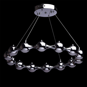 Hanging lamp Hi-Tech 14 Chrome - 492013014 small 1