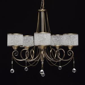 Hanging lamp Monica Classic 5 Brass - 372013405 small 7