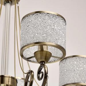 Hanging lamp Monica Classic 5 Brass - 372013405 small 10