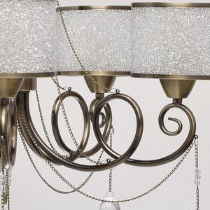 Hanging lamp Monica Classic 5 Brass - 372013405 small 11
