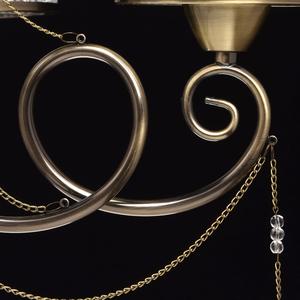 Hanging lamp Monica Classic 5 Brass - 372013405 small 13