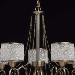 Hanging lamp Monica Classic 5 Brass - 372013405 small 14