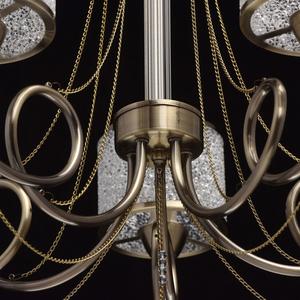 Hanging lamp Monica Classic 5 Brass - 372013405 small 2