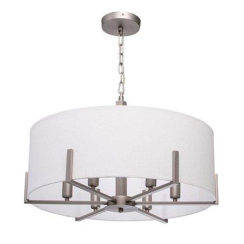 Hanging lamp Daphne Megapolis 6 Gray - 453011906