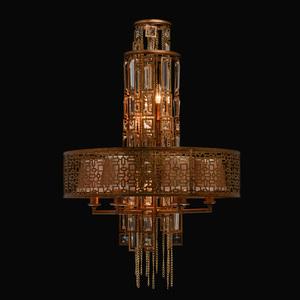 Hanging lamp Morocco Loft 10 Copper - 185010310 small 1