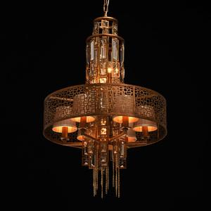 Hanging lamp Morocco Loft 10 Copper - 185010310 small 7