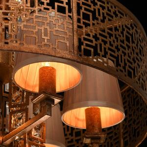 Hanging lamp Morocco Loft 10 Copper - 185010310 small 9