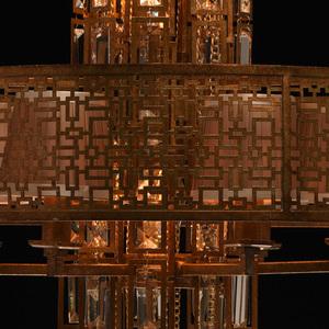 Hanging lamp Morocco Loft 10 Copper - 185010310 small 11